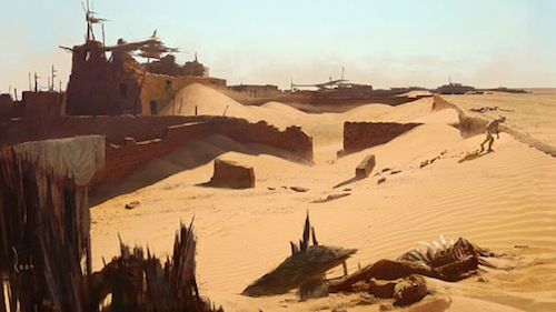 uncharted-3-village-art