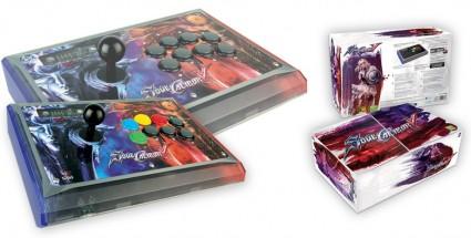 Mad Catz Ships SoulCalibur V Arcade FightStick Soul Edition