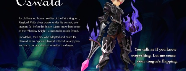 Odin Sphere Leifthrasir: Recommended Skills for Oswald