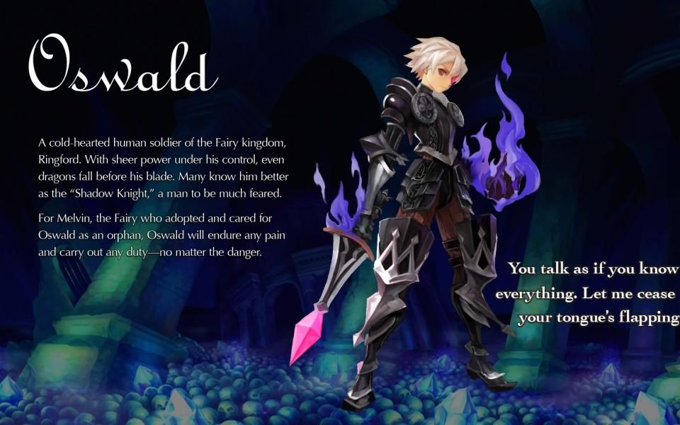 Odin Sphere Leifthrasir: Recommended Skills for Oswald