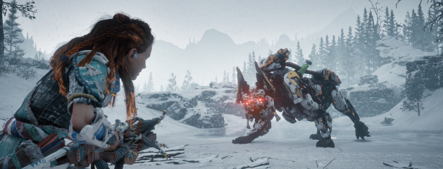 On Horizon Zero Dawn: The Frozen Wilds
