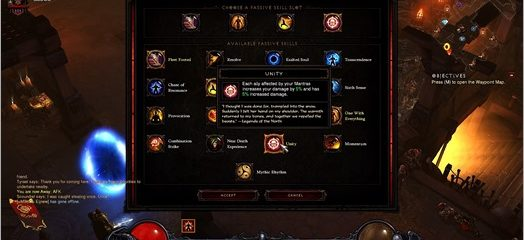 Diablo III Reaper of Souls: Monk Unity Build